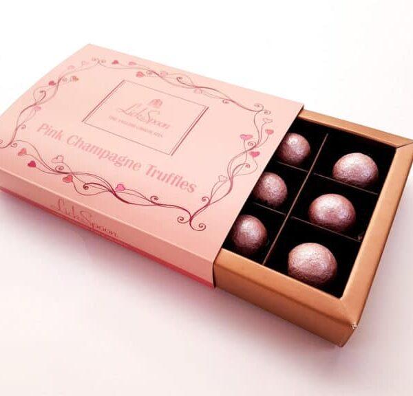 Pink Champagne Truffles